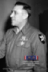 Col. Chester J. Hirschfelder, 9th Infantry Regiment, receives Legion of Merit on March 12, 1945.