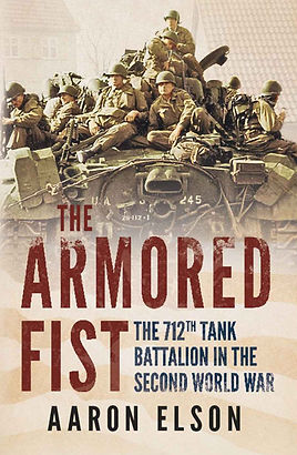 712th Tank Battalion book cover by Aaron Elson.