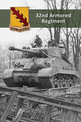 M4A3(76)HVSS from the 32nd Armored Regiment, 3rd Armored Division, at Paffendorf, Germany.