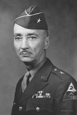 Brigadier General John H. Collier, Combat Command A, 2nd Armored Division.