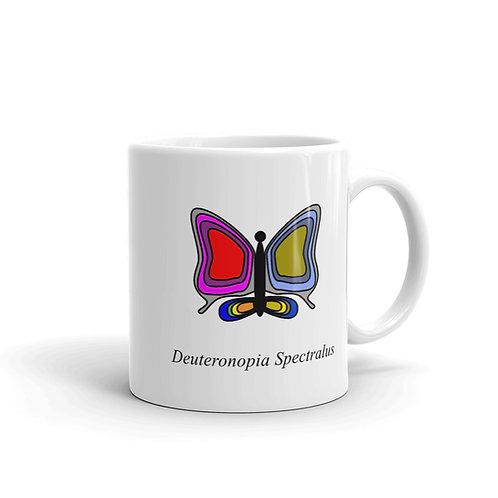 Datavizbutterfly - Deuteronopia Spectralus - Mug