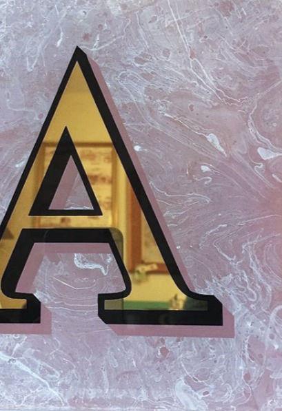 Gold Letter Sign Workshop