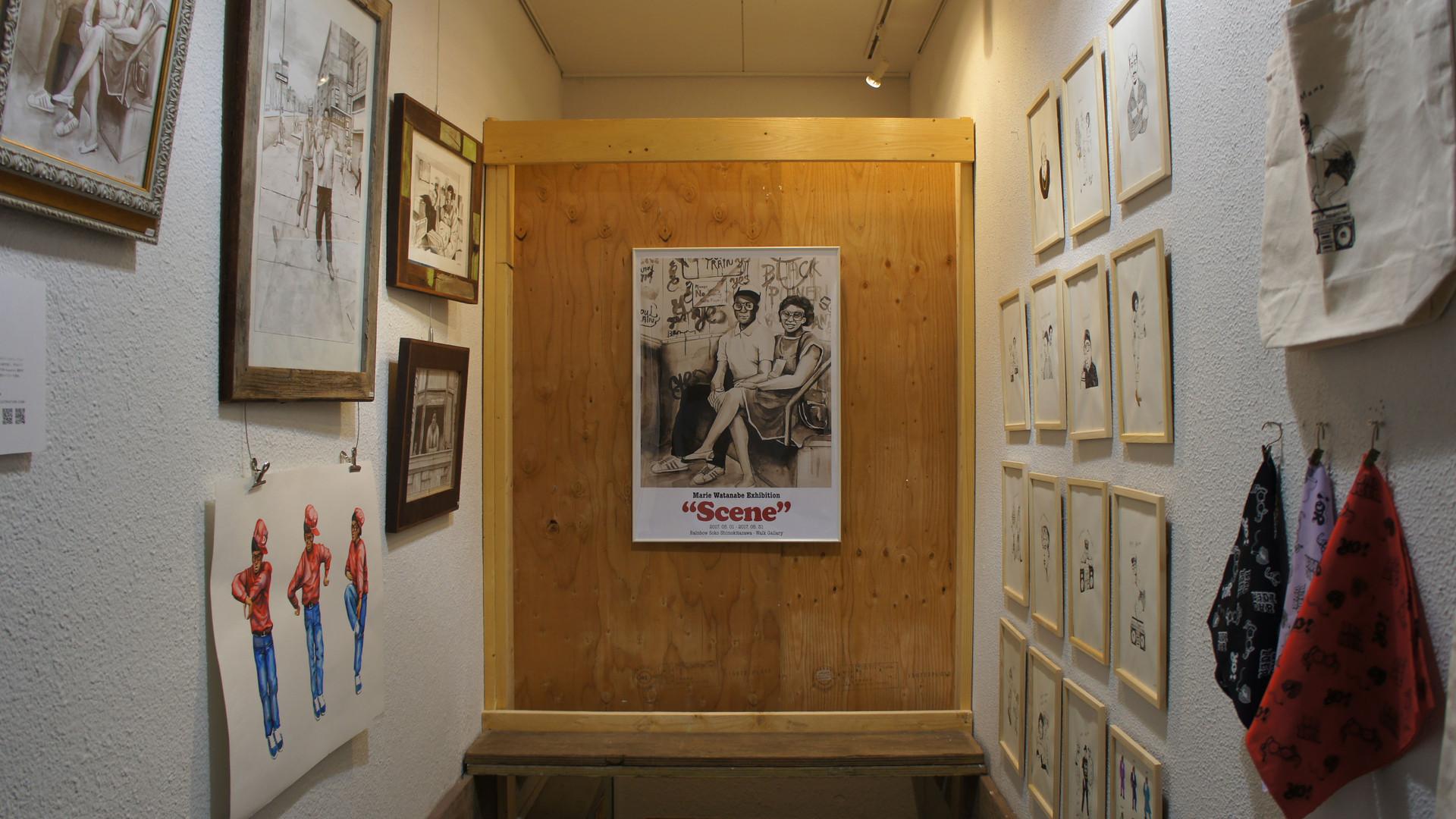 """Solo exhibition """"Scene"""""""