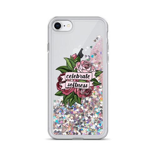 Celebrate Softness Liquid Glitter Phone Case