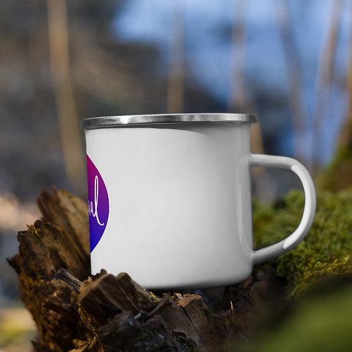 Bisexual Pride Enamel Mug