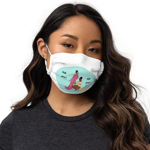 WAP Talk Your Sh*t Face Mask