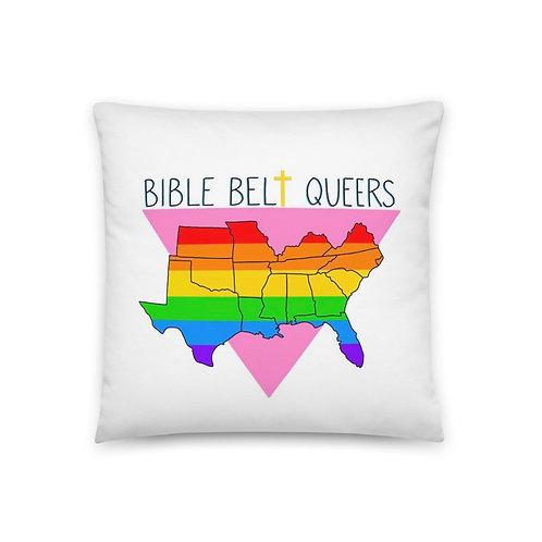 Bible Belt Queers Pillow