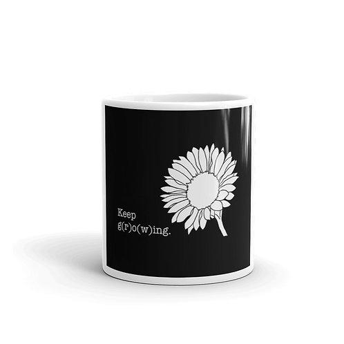 Keep Going Keep Growing Mug