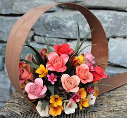cerchio con rose
