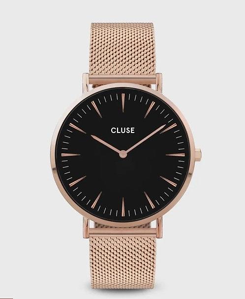 Cluse watch Chic Mesh Rose/Black