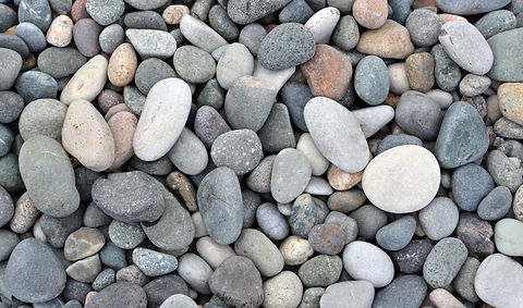 Beach stones background. Top view..jpg