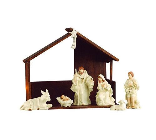 Belleek Living Nativity Set