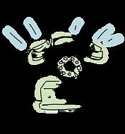 電話予約のイラスト画像