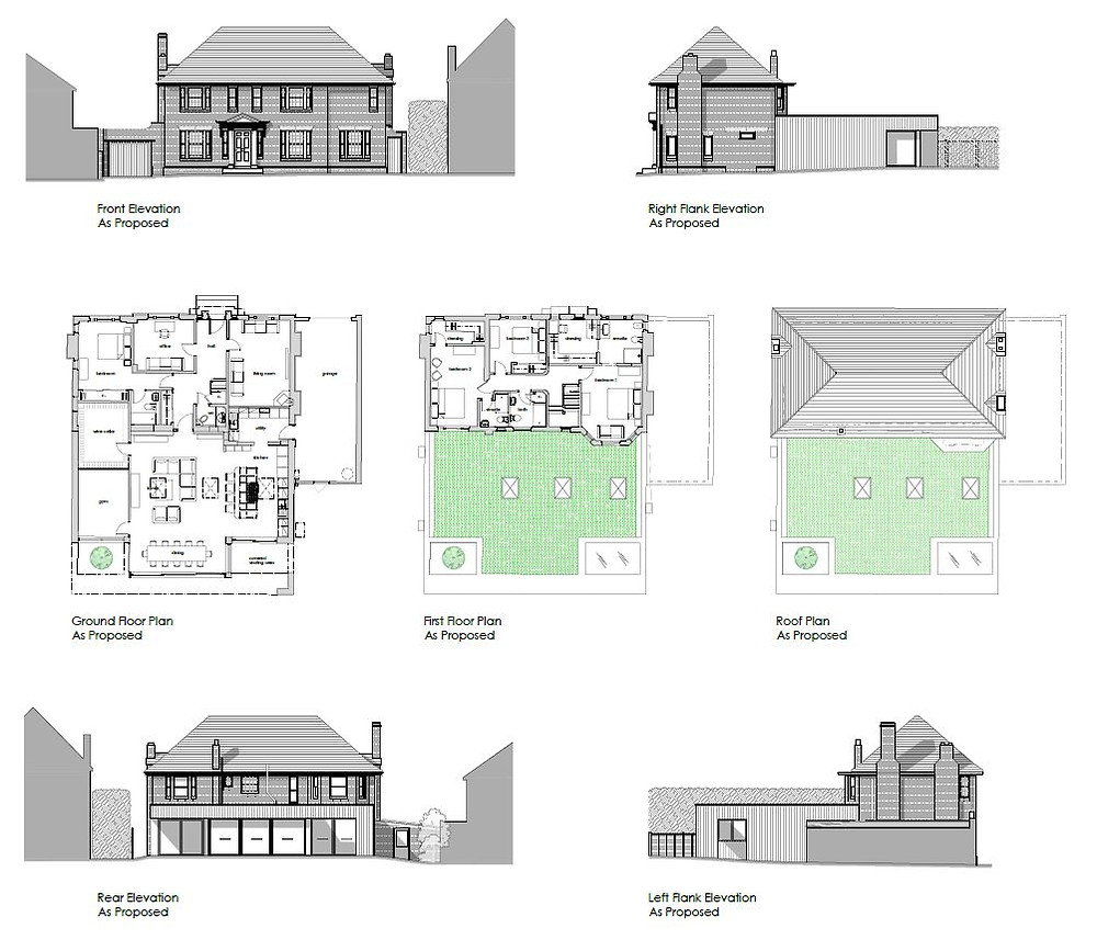 design for high quality rear extension to a family home in St Dunstan's, Canterbury