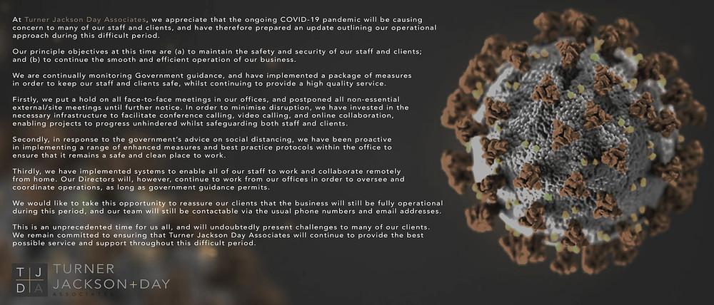 Covid-19 - Operational Update