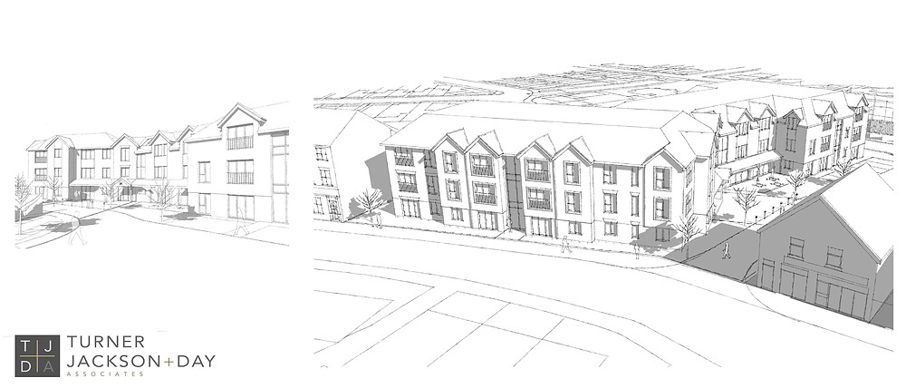 design work on a new Assisted Living facility