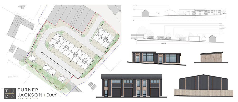 Planning application for the expansion of Barham Business Park
