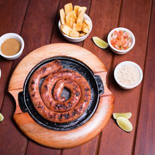 Linguiça na Chapa