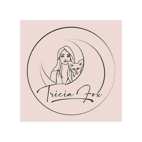 Tricia Fox - Logo Sticker