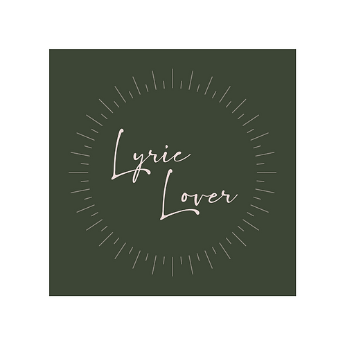 Lyric Lover - Sticker