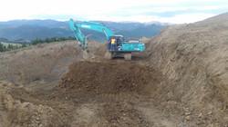 Kobelco Digger at the quarry