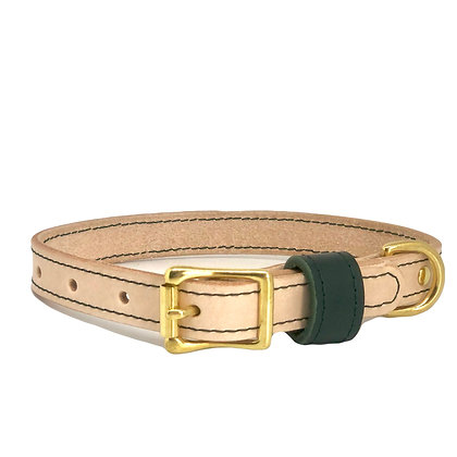 Natural Tan Classic Collar