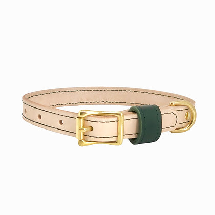 Classic Collection Leather Collar