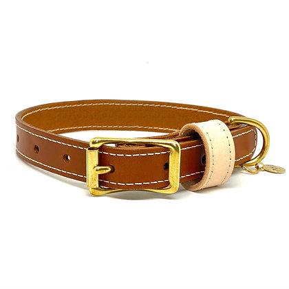 Medium Brown Classic Collar