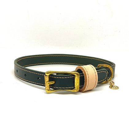 Dark Racing Green Classic Collar