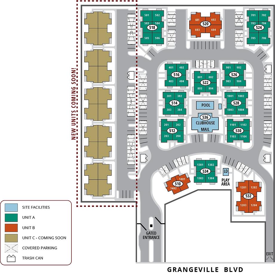 Windgate Site Plan