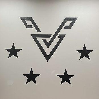 Valor Ink Logo Mural