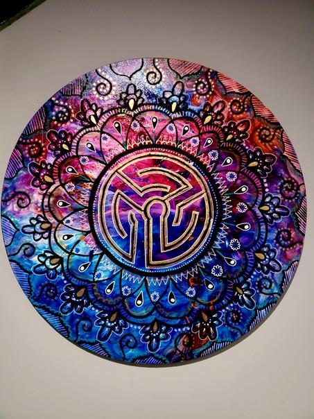 Labyrinth Mandala