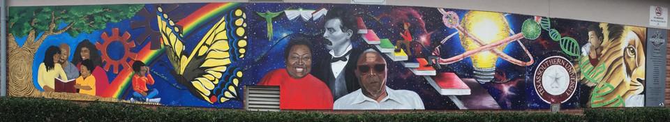 Cuney Homes Mural