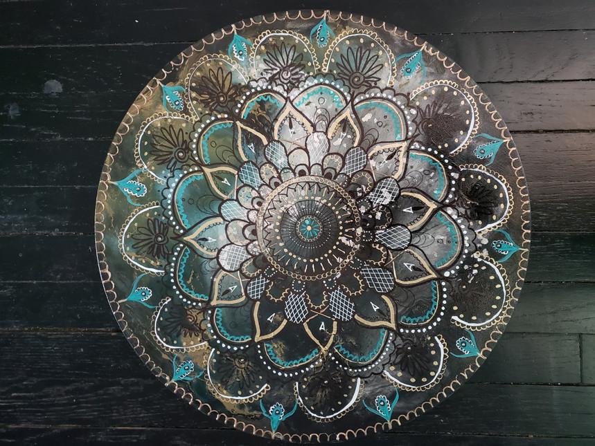 Teal Mandala