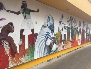 Greatest Athletes Mural