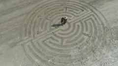 9 circuit Beach Labyrinth