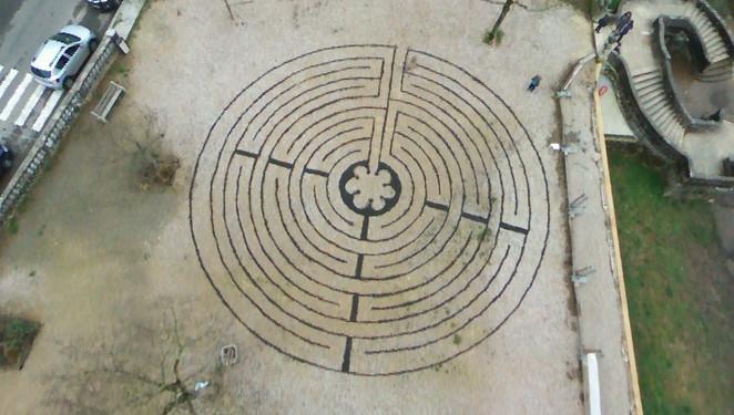 St. Antonin, France Labyrinth
