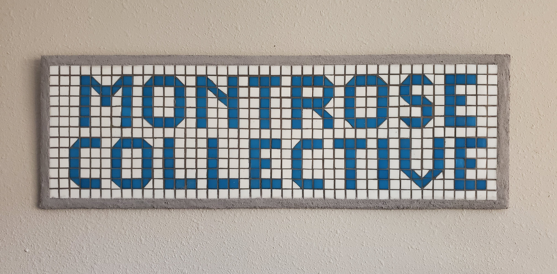 Montrose Collective Mosaic Sign