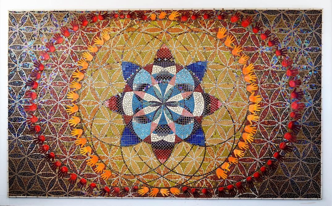 Hilliard Mosaic Mural