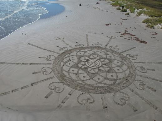 3 Circuit Sacred Geometry Labyrinth