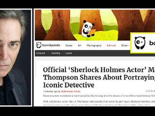 A fun interview about Sherlock!