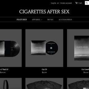 Cigarettes After Sex Store