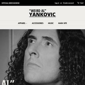 """Weird Al"" Yankovic Store"