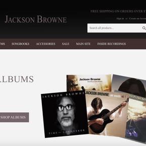 Jackson Browne Store
