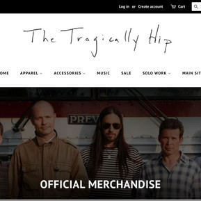 The Tragically Hip Store