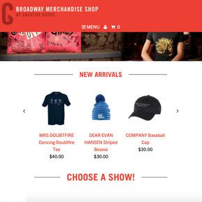 Broadway Merchandise Shop