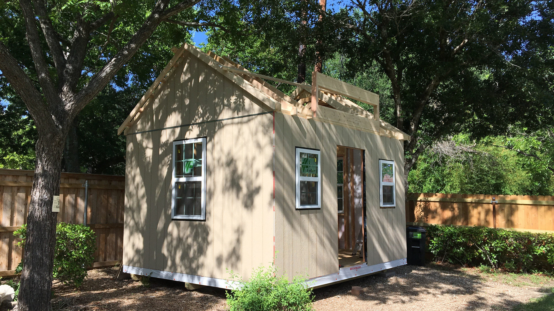 SHE-SHED PROJECT (Currently in production)
