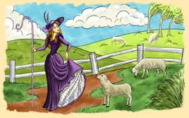 Bo Peep & Her Sheep