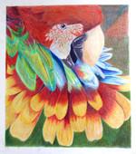 Parrot/Flower