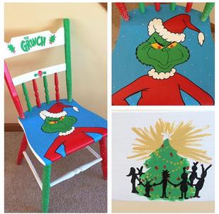 Grinch Chair